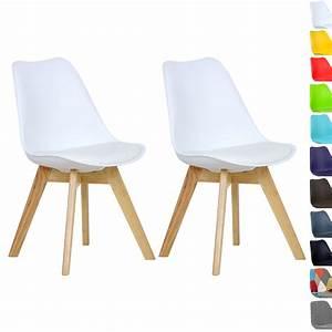 lot de 2 chaise de salle a manger en bois en tissu With salle À manger contemporaineavec chaise cuisine bois