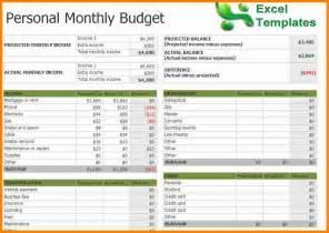 Household Budget Worksheet Excel Template 3 Monthly Budget Spreadsheet Template Excel Budget Template