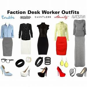 Faction Desk Worker Outfits