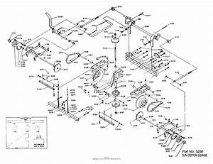 Dixon Ztr 424  1984  Parts Diagram For Transaxle Assembly