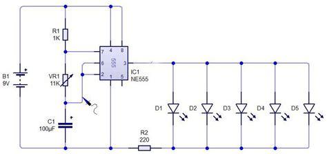 Flasher Circuit Using Timer Basic Electronic