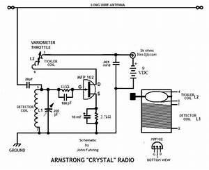 armstrong crystal radio With crystal radio