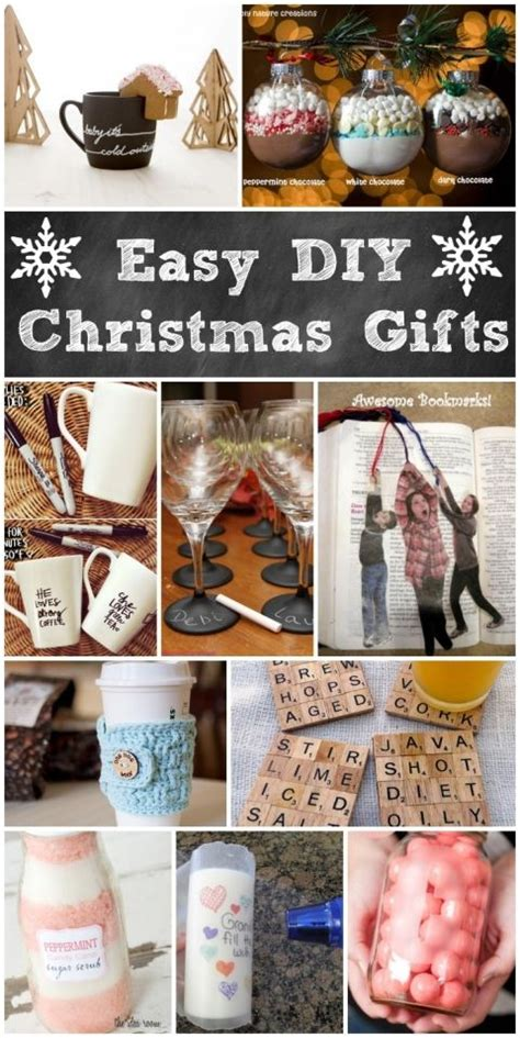 easy diy christmas gifts homemade holiday gifts  mom
