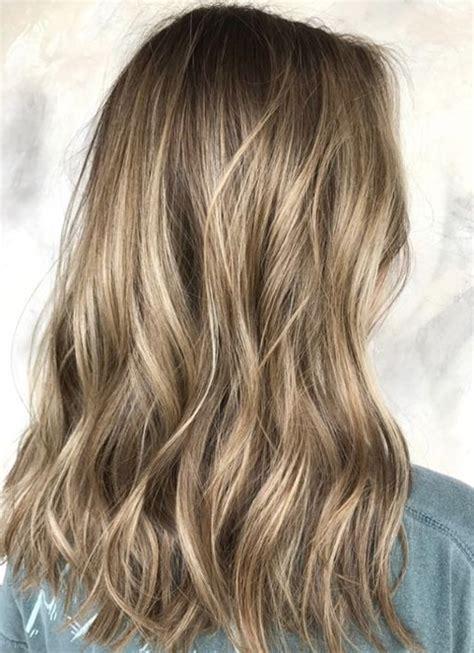 dark blonde balayage hair color ideas  medium