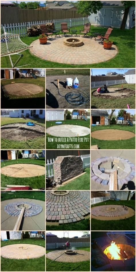 ingenious project ingenious outdoor project how to build a patio fire pit crafts outdoors and how to build