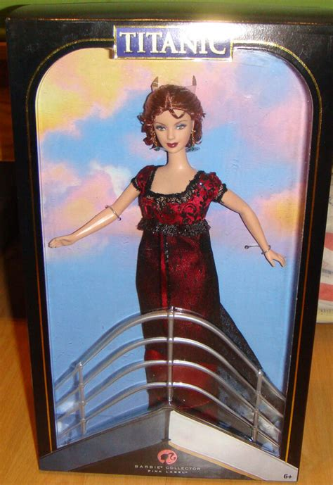 barbie  titanic barbie doll nrfb xb  ebay