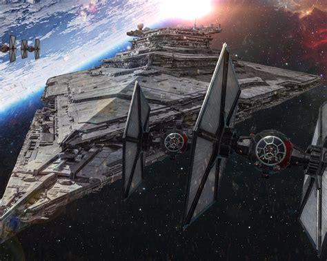 star wars  force awakens star boat destroyer