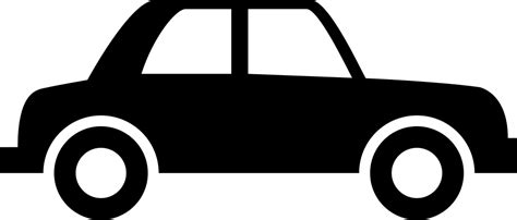 Vintage Car Silhouette Of Side View Svg Png Icon Free