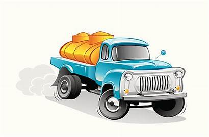 Milk Truck Clip Tanker Vector Illustrations Graphics