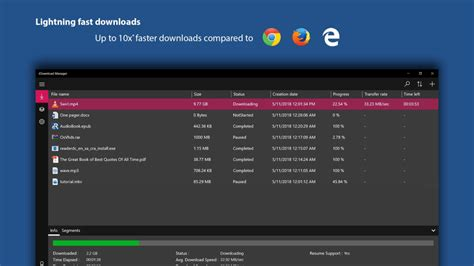Download files with internet download manager. iDM Edge Extension - Download