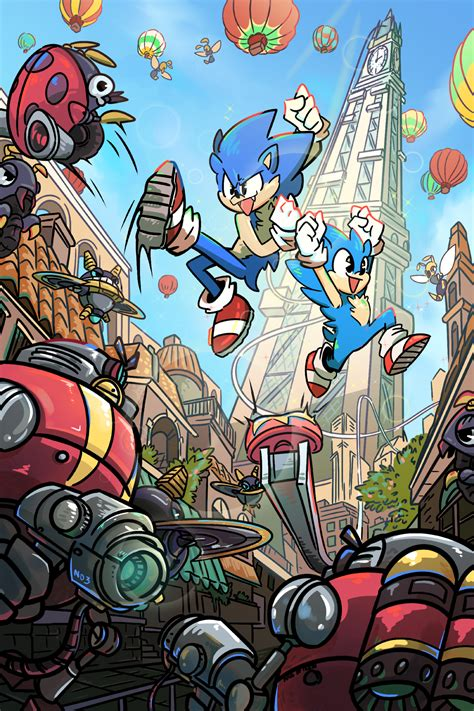 Some seriously cool Sonic Generations fanart ...