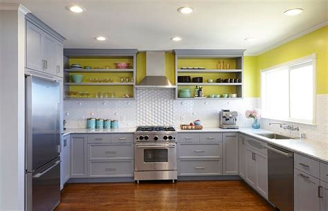 yellow and white kitchen ideas 11 trendy ideas that bring gray and yellow to the kitchen