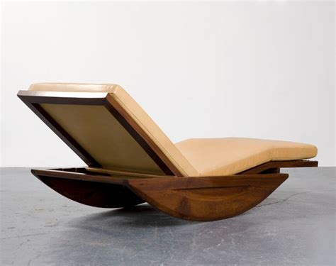 chaise rocking chair quot chaise longue rocking chair quot by joaquim tenreiro at 1stdibs
