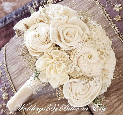 weddings champagne ivory sola bouquet wedding flowers