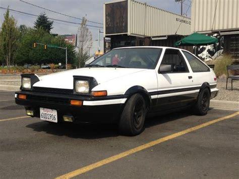 Sell used 1986 Toyota Corolla AE86 Hatchback Trueno 20