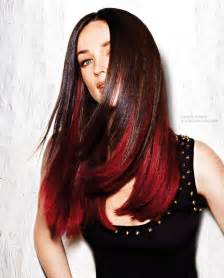 Brown Hair Red Underneath ️ Hair Pinterest Brown