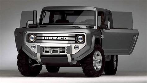 ford bronco     confirmed