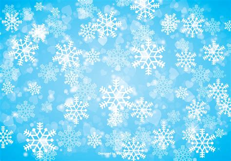 Blue Snowflake Background Clipart by Winter Snowflake Background Free Vectors