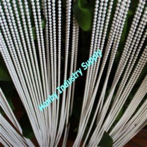 rideau vertical blanc divier en corde de perle en m 233 tal