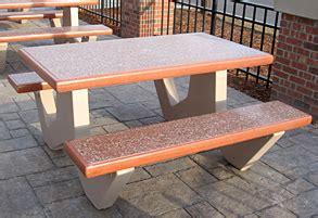 precast concrete picnic tables smooth finish picnic tables concrete picnic tables
