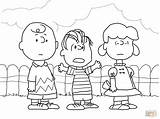 Coloring Charlie Brown Pages Linus Lucy Christmas Peanuts Characters Thanksgiving Snoopy Printable Gang Supercoloring Halloween Cartoon Easter Ipad Sheets Clipart sketch template