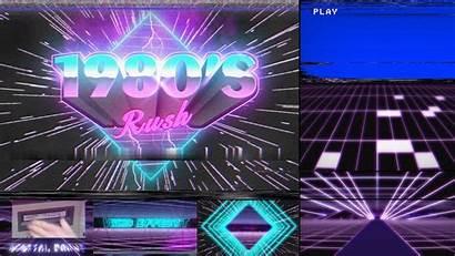 1980s Template 1980 Rush 80s Neon Wallpapers