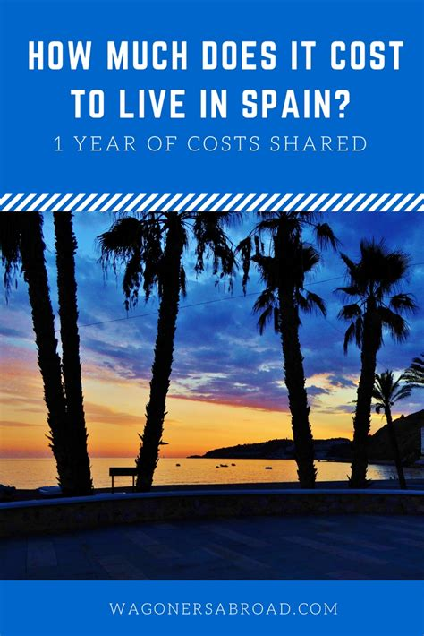 How Much Does It Cost To Live In Spain For 1 Year?