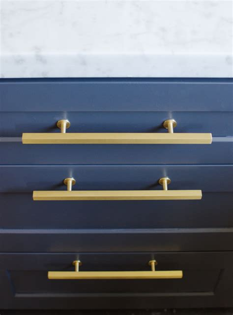 Navy Cabinets by Top Hardware Styles To Pair With Your Shaker Cabinets