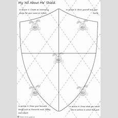 Teacher's Pet Activities & Games » 'all About Me' Shield Activity » Eyfs, Ks1, Ks2 Classroom