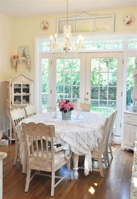 shabby chic kitchen dining room 20 elements necessary for creating a stylish shabby chic kitchen