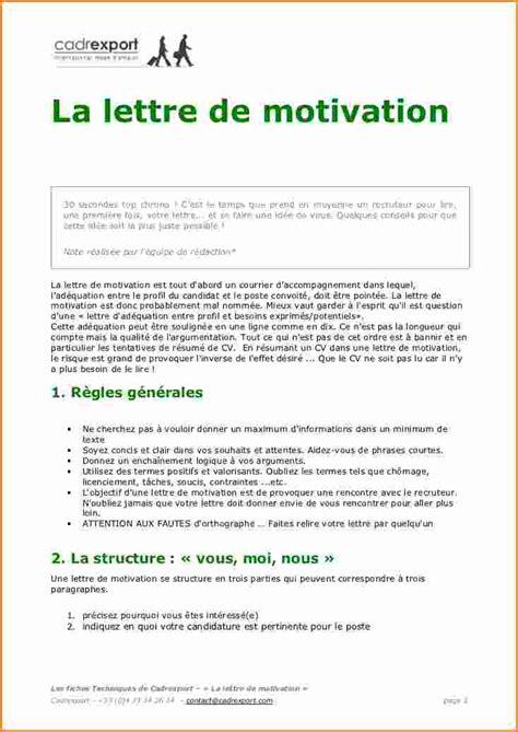 lettre de motivation employé de bureau modele lettre de motivation premier emploi candidature