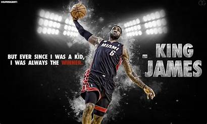 Lebron James King Wallpapers Heat Miami Dunk