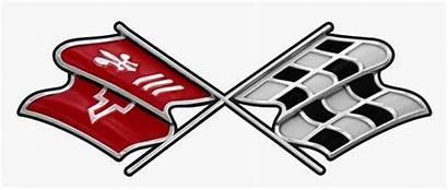 Corvette C3 Emblem Clipart Flags Stingray Chevrolet