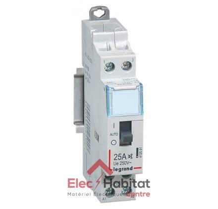 contacteur chauffe eau legrand contacteur de chauffe eau bipolaire 230v 25a legrand 412501