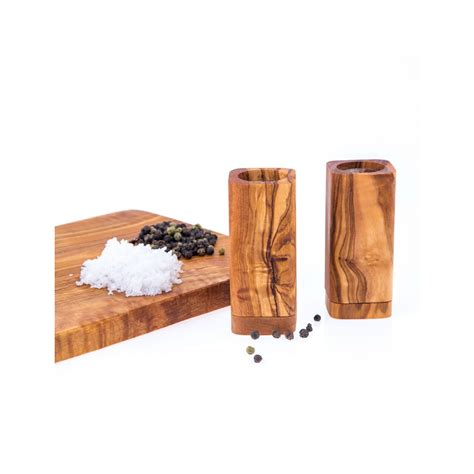 olive wood kitchen accessories olive wood salt pepper shakers set of 2 kitchen 3674