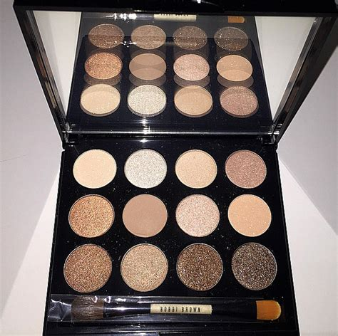 bobbi brown eyeshadow palette shimmering sands