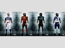 Noticias NFL en español Uniformes de la NFL rediseñados