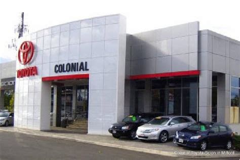 Colonial Toyota Milford Ct 06460 2529 Car Dealership