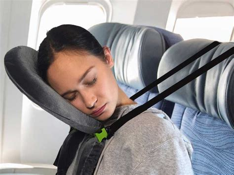 airplane travel pillow this newly designed travel pillow will make sleeping on