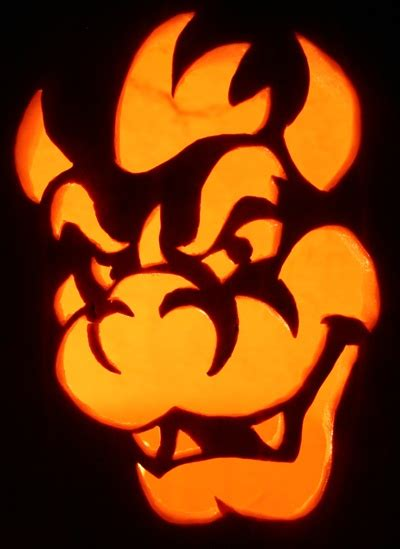 pumpkin carving mario 19 best images about bowser on pinterest rocks halloween pumpkin carvings and super mario bros