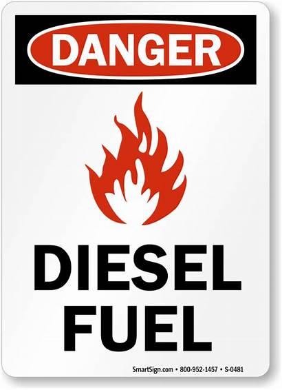 Diesel Fuel Sign Signs Danger Graphic Smoking