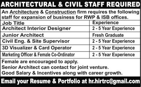 Architects, Civil Engineer, Marketing Officer & 3d