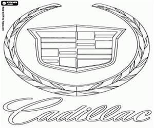 coloriage marques de voitures a imprimer With white cadillac cts6