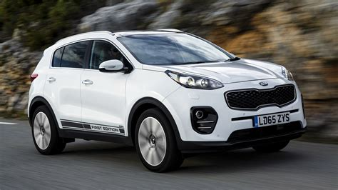 Kia Sportage First Edition (2016) Uk Wallpapers And Hd