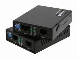 Startech 110vdslext 10  100 Vdsl2 Ethernet Extender Kit Over Single Pair Wire - 1km