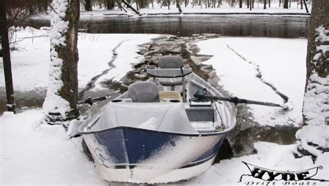 Used Hyde Drift Boat Cover by November Fishing Report And Specials Hyde Drift