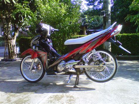 Modif Jupiter Z by Foto Jupiter Z Modifikasi Standar Thecitycyclist