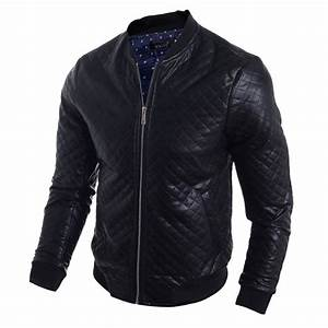 fashion style Mens winter leather jacket best selling mens ...