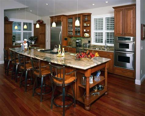 open kitchen island designs traditional kitchens kitchens com