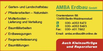 Garten Und Landschaftsbau Berlin Reinickendorf by Gartenbau Gartengestaltung Und Baumpflege Berlin